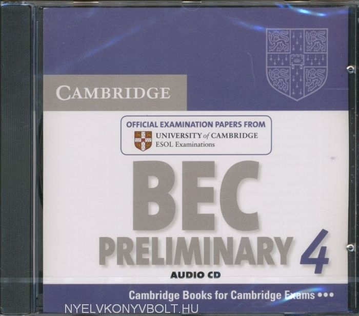 Cambridge BEC Preliminary 4 Official Examination Past Papers Audio CD