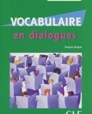 Vocabulaire en dialogues Niveau intermédiaire avec CD Audio