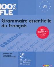 100% FLE - Grammaire essentielle du français niv. A1 2018 - Livre + CD