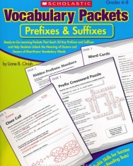 Vocabulary Packets - Prefixews & Suffixes