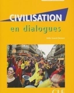 Civilisation en dialogues - Livre + CD audio - niveau débutant