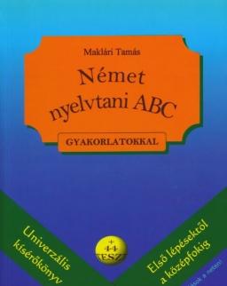 Német nyelvtani ABC gyakorlatokkal + 44 teszt + Letölthető megoldások