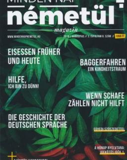 Minden Nap Németül magazin 2019. augusztus