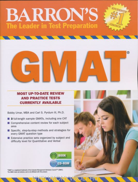 Barron's GMAT with CD-ROM (18th Edition)