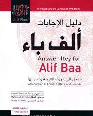 Alif Baa Answer Key - 3rd Edition
