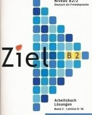 Ziel B2 Arbeitsbuch Lösungen Band 2 Lektion 9-16