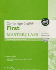 Cambridge English First Masterclass Workbook Pack with Key and MultiROM - For the 2015 exam