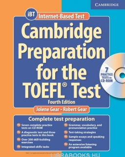 Cambridge Preparation for the TOEFL Test iBT Edition Book with CD-ROM