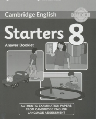 Cambridge English Starters 8 Answer Booklet