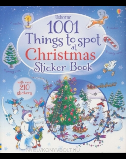 1001 Christmas Things to Spot Sticker Book