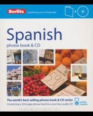 Berlitz Spanish phrase book & CD