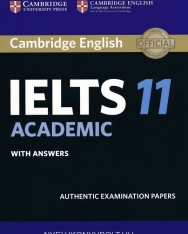 Cambridge IELTS 11 Official Examination Past Papers Academic Student's Book with Answer