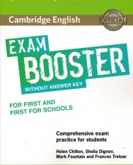 Cambridge English Exam Booster for First and First for Schools without Answer Key with Audio - Comprehensive Exam Practice for Students