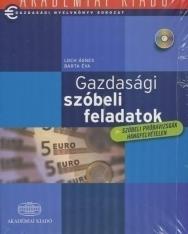 Gazdasági nyelvkönyv sorozat - Gazdasági szóbeli feladatok Angol középfok/felsőfok + Audio CD