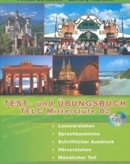 Test- und Übungsbuch TELC Mittelstufe B2 mit CDs