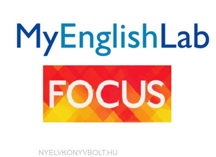 Focus 3 Student's MyEnglishLab Online Access Code (British English)