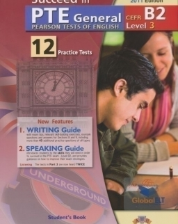 Succeed in PTE General Level 3 B2 - 12 Practice Tests - Self Study Edition (Student's Book, Self Study Guide and Audio MP3 CD)