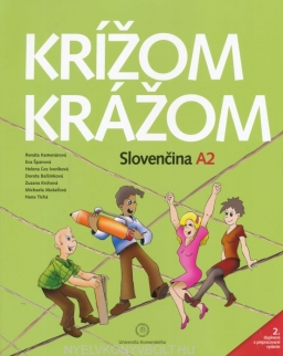 Krížom-krážom Slovenčina A2 + online audio - 2. doplnené a prepracované vydanie