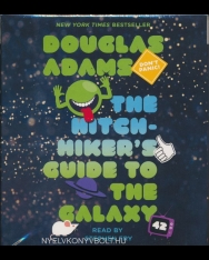 Douglas Adams: The Hitchhikers's Guide to the Galaxy Audio Book (5CDs)