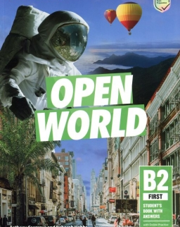 Open World B2 First Student's Book with Answers with Online Practice