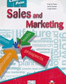 Career Paths - Sales & Marketing Student's Book with Digibooks App