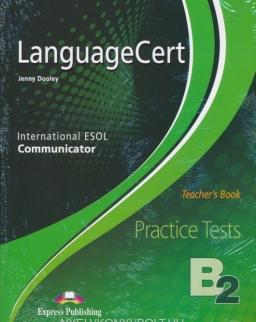 LanguageCert Practice Tests B2 Communicator Teacher's Book - Overprinted - with DigiBook