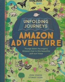 Unfolding Journeys - Amazon Adventure (Lonely Planet Kids)