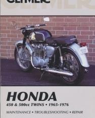 Clymer Honda 450 & 500Cc Twins: 1965-1976