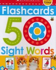 50 Sight Word Flashcards
