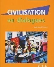 Civilisation en dialogues - Livre + CD audio - niveau intermédiaire