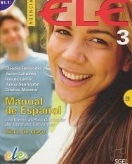 Agencia ELE- Manual de Espanol nivel 3 B1.1 Libro de Clase incluye CD