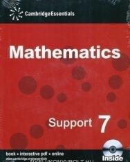 Cambridge Essentials Mathematics Support 7 Pupil's Book with CD-ROM
