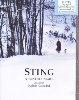 Sting: Winter's night - 2 DVD live from Durham Cathedral, England 2009