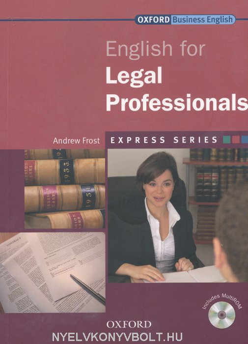 English for Legal Professionals with MultiROM