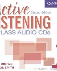 Active Listening 1 Class Audio CDs 2nd Edition