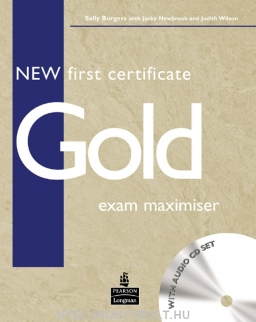 New First Certificate Gold Exam Maximiser without Key with Audio CDs