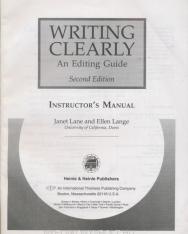 Writing Clearly Teachers Guide