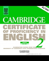 Cambridge Certificate of Proficiency in English 2 Official Examination Past Papers Audio CDs (2)