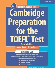 Cambridge Preparation for the TOEFL Test iBT Edition Audio CDs (8)