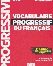 Vocabulaire progressif du français - Niveau intermédiaire - 3eme édition - Livre + CD + Appli-web
