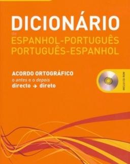Dicionário Espanhol-Portugués, Portugués-Espanhol Incliu CD-Rom