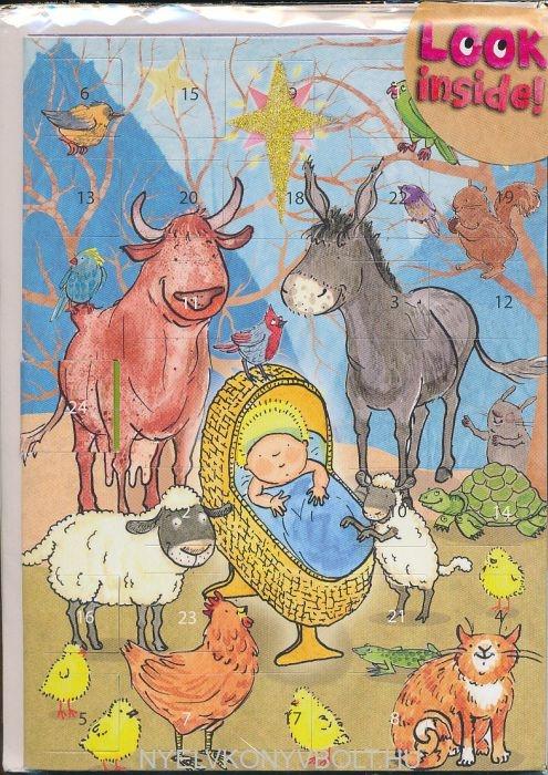 Advent Nativity Card