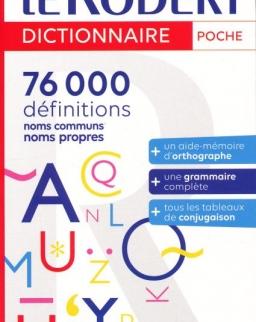 Dictionnaire Le Robert Poche - Nouvelle Édition 2022