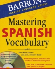 Barron's Mastering Spanish Vocabulary with Practice CD - A Thematic Approach