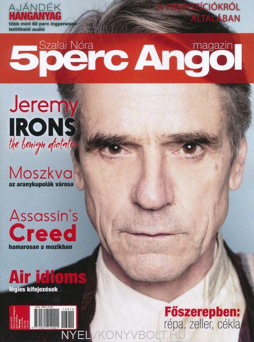 5 Perc Angol Magazin 2016 Október