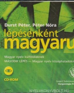 Lépésenként magyarul 2 Magyar nyelv külföldieknek 'Második lépés' CD-ROM