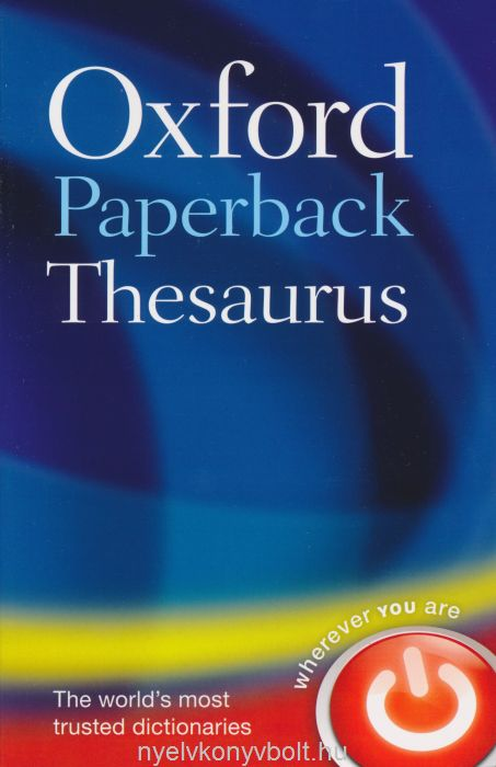 Oxford Paperback Thesaurus - Fourth Edition