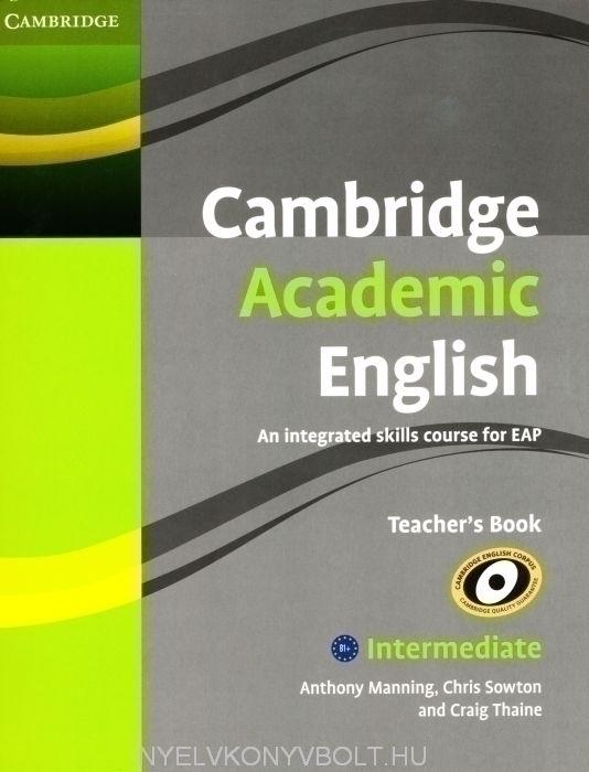 Cambridge Academic English Intermediate Teacher's Book