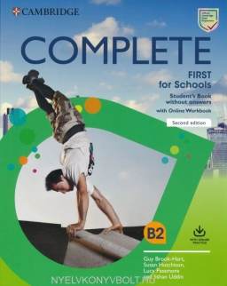 Complete First for Schools 2nd Edition Student's Book without Answers with Online Workbook
