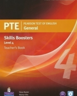 PTE General Skills Boosters 4 Teacher's Book with Audio CD